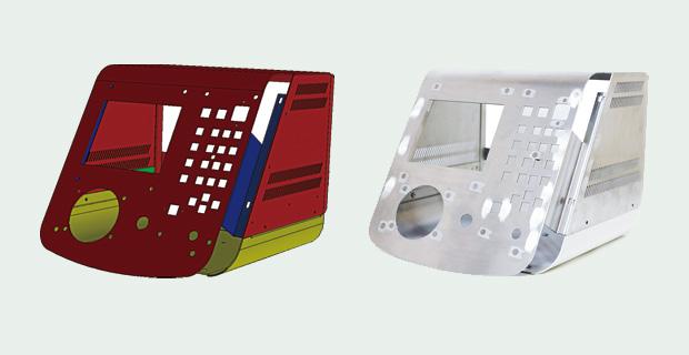 画像:複合マシン2台体制を構築したアーバン工場