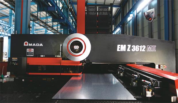 画像:カーテンウォールの製造では台湾トップ企業