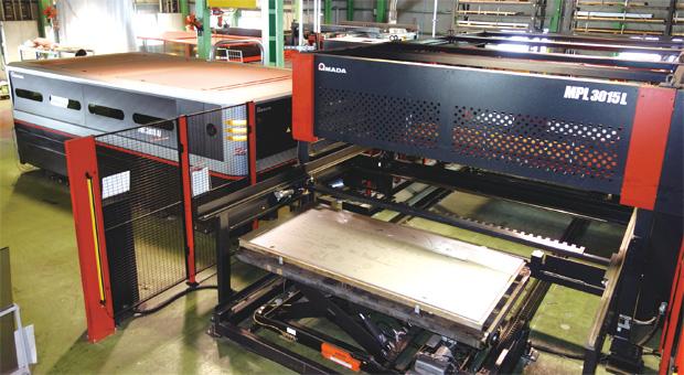 画像:環境負荷低減に貢献しながら、製造工程の自動化を進める