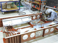 画像:新幹線の内装品に注力