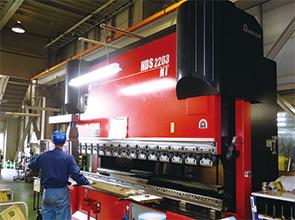 画像:除水装置や冷却装置など、食品工場向け省力化装置を開発