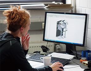 画像:コネクティング工場を目指す創業20年の工場