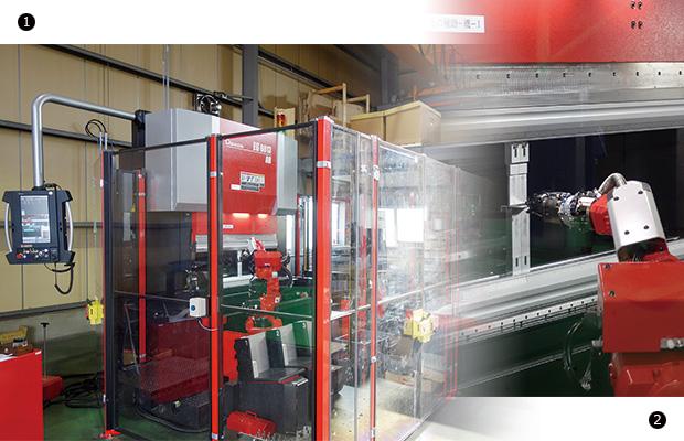 画像:コイル材を使用したステンレス加工で未来を創造する
