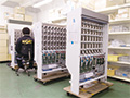 画像:調剤機器の板金加工・ユニット組立に対応