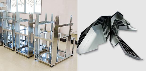 画像:3代にわたり、医用・分析装置の板金部材を生産