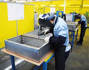 画像:板金加工を主体に、タイ・ベトナムで装置部品のEMS事業を展開
