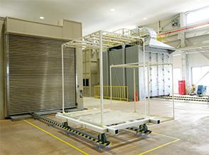 画像:開発から製造・完成品まで一貫した生産体制を構築