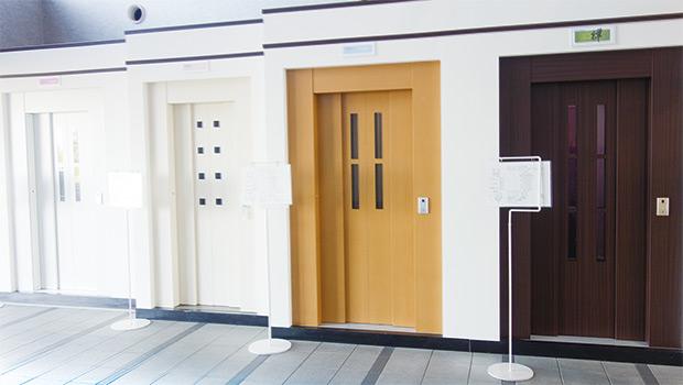 画像:ホームエレベーター群のリーディングメーカー