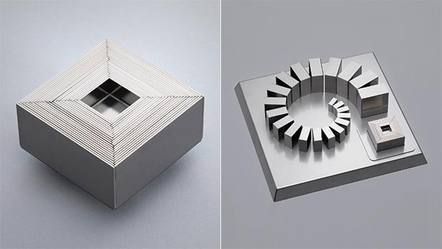画像:±0.02㎜の曲げ精度×21個のパーツを組み合わせ