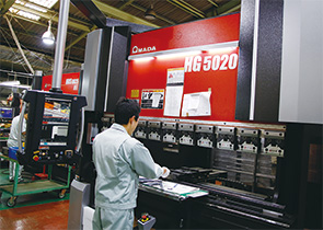 画像:設備力強化は事業発展の絶対条件