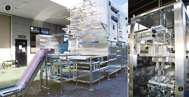 画像:大型食品機械・装置の一貫生産工場