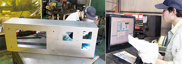 画像:トヨタ生産方式に基づく管理手法を実践