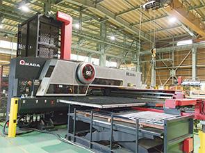 画像:板金加工の可能性に挑戦、自社製品比率を35%まで向上