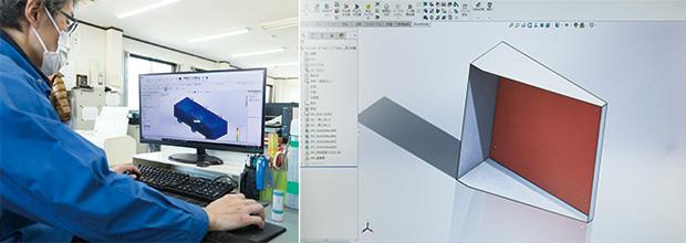 画像:精密板金加工+工業用ヒーターの「一貫プロデュース力」