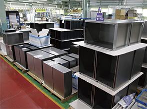 画像:企画・開発・設計からサポートする照明器具の中核サプライヤー