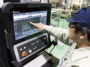 画像:6社のマシンを比較検討し、ENSIS-AJ(6kW)を選定