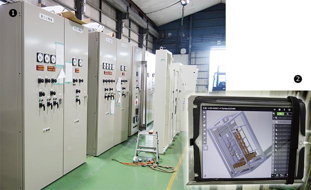 画像:好調続く沖縄の受配電業界を支える