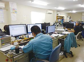 画像:積極的な設備投資で新規受注を開拓