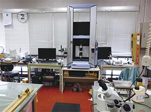 画像:複合材料の基礎研究から、新材料の高度利用技術・設計手法の研究へ