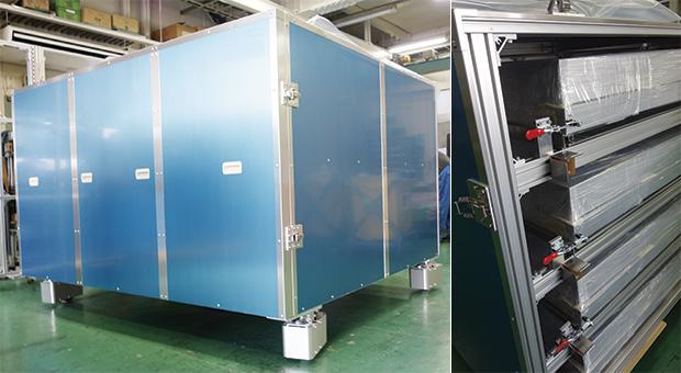 画像:FPD装置の自社設計製品で事業発展