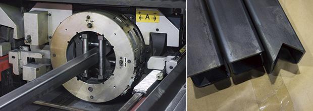 画像:ビーム制御ができるENSIS ― 切断にも溶接にも