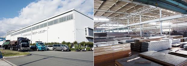 画像:鉄と建材のショッピングモールを目指し、1次加工能力を強化