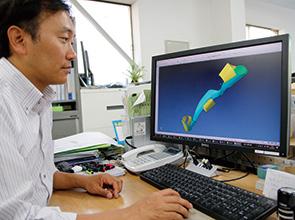 画像:医工連携による医療現場向け商品の開発