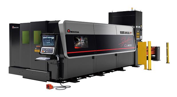 画像:アマダ、新型ファイバーレーザマシンREGIUS-AJと高速・高機能ベンディングマシンHRBシリーズを発表