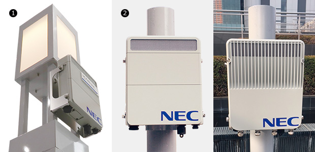 画像:DXを加速するNECの5G無線アクセス技術