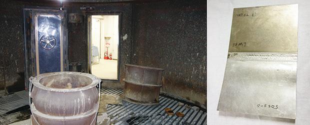 画像:国立大学法人で唯一の総合的爆発実験施設を活用