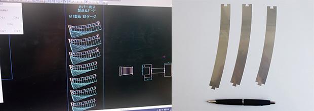 画像:「役割を持った曲げ加工」 ― 曲げ精度±0.02㎜を追求