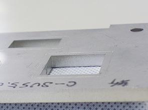画像:高輝度レーザによるステンレス材の高速・高精度加工を実現