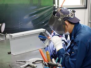 画像:設備力=競争力の強化を目指した設備投資を継続