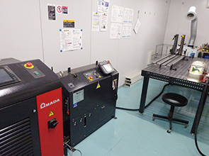 画像:計量で培った技術力で生産ラインをトータルに創造