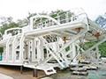 画像:建設施工現場でも活躍するコンクリート用骨材プラント製造メーカー