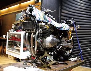 画像:カスタムバイクショップが板金工場をM&Aで取得