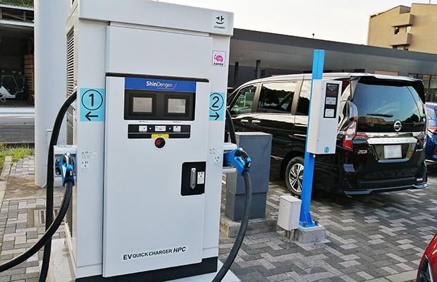 画像:世界のEV充電インフラ市場は急速に拡大