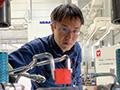 画像:「プレス機自らが考えて動く機械学習を活用した知能化成形技術の構築」