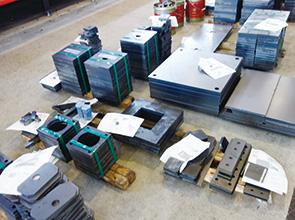 画像:ファイバーレーザマシンを拡充 ― レーザマシンは計13台に